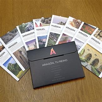 Folletos turismo de Aragón