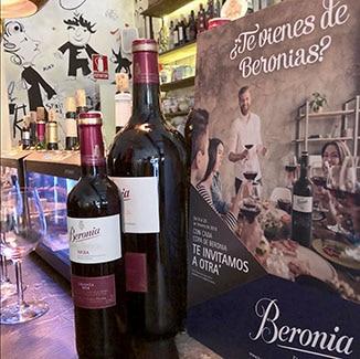 Promoción Beronia en Zaragoza y Valencia