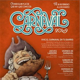 Carnaval 2019 piezas promocionales