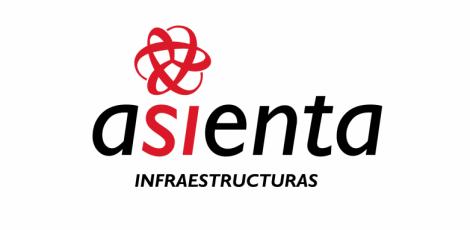 Logotipo Asienta infraestructuras