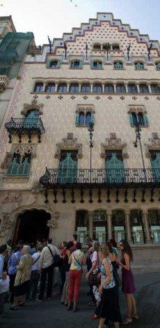 Presentación del Melocotón de Calanda en Barcelona
