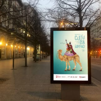 Campaña disfruta la cultura en Navidad